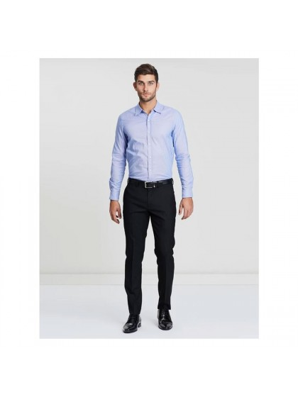 Colour Blues India Elite Mens Trouser- Jet Black - Matt Edition