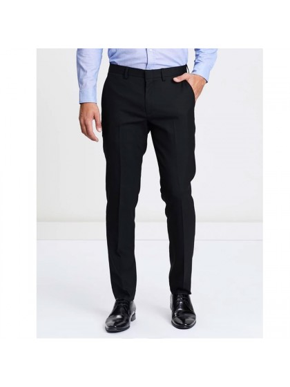 TrendSetter India Elite Men's Trouser- Jet Black (Premium Edition)